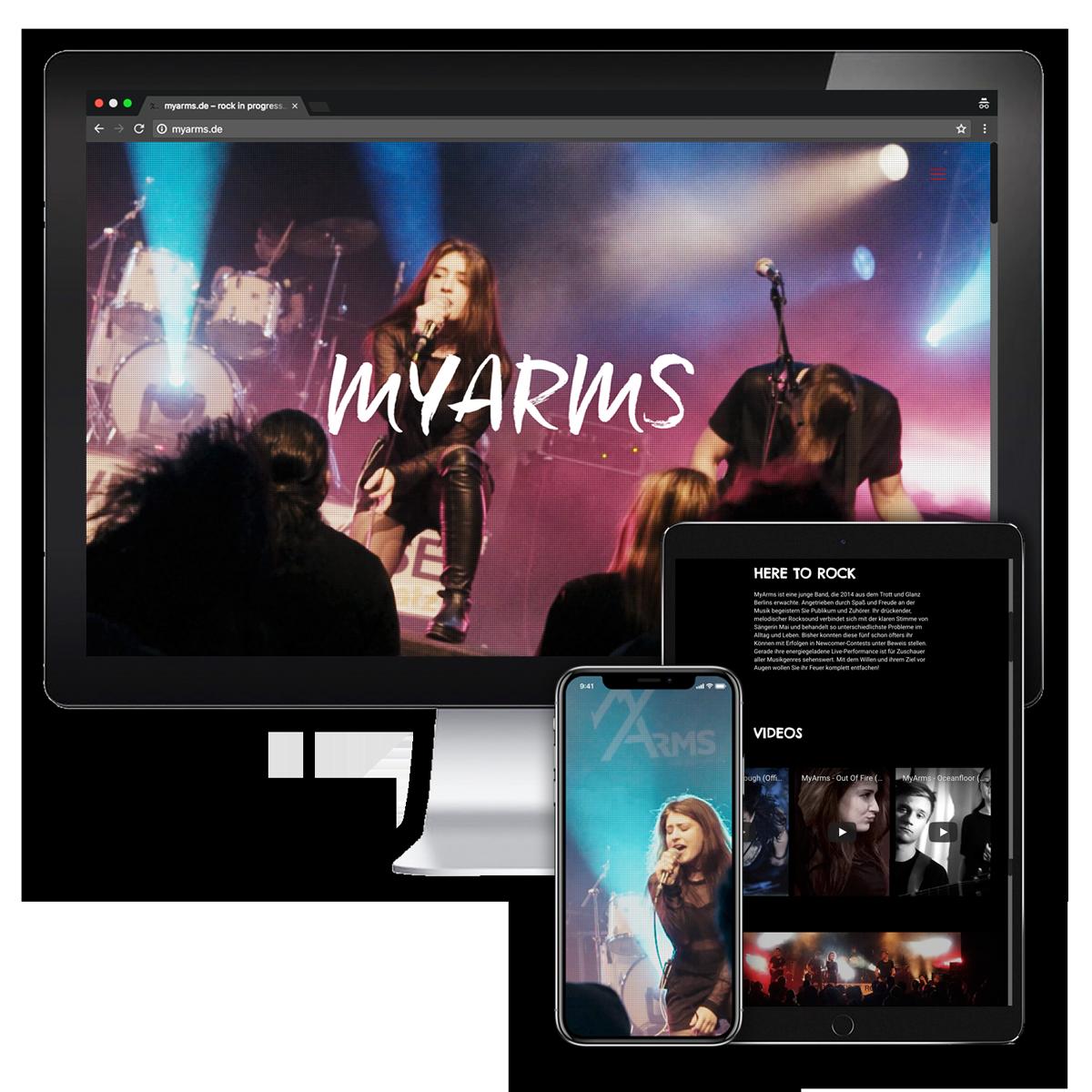 Website MyArms
